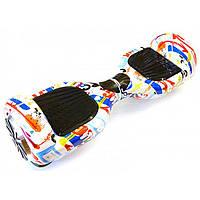 """Отличный подарок Гироскутер Smart Balance Wheel Simple 6,5"""" Graffiti + Сумка. Хорошее качество. Код: КГ1054"""