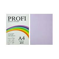 """Бумага цветная """"PROFI"""" А4. 80г (100л) Light Lavander N 185 (лиловый)"""