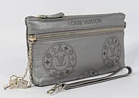 Кошелек-клатч кожаный LOUIS VUITTON 1870 темно-серый, расцветки в наличии