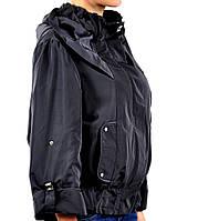 Куртка женская стильная на весну V 47 черная