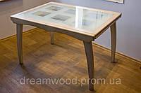 Стол обеденный раскладной массив дуба, ясеня, фото 1