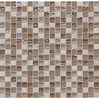 Мозаика  мрамор и стекло CS06