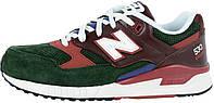 Мужские кроссовки New Balance M530 RWA Green/Bordo