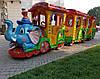 """Детский паровозик на пневмоходу """"Мадагаскар"""" для прогулок в парке ил по торговому центру"""