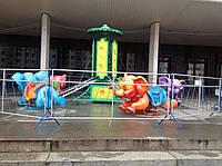 Детская карусель Летающие слоники - парковые карусели,уличные аттракционы для детей от производителя