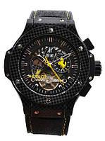 Часы Hublot King Power Ferrari yellow