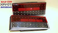 Задние диодные фонари на ВАЗ 2109 Торнадо №268с