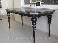 Стол обеденный с резными ножками массив дуба, ясеня