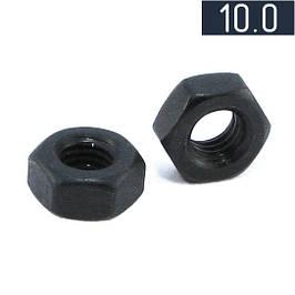 Гайка шестигранна клас міцності 10.0 DIN 934