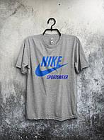 Серая мужская футболка Nike Sportswear