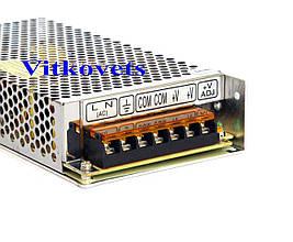 Импульсный блок питания S-145-24, 24V, 6A, 145W, фото 3