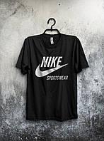 Черная мужская футболка Nike Sportswear
