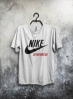 Белая мужская футболка Nike Sportswear