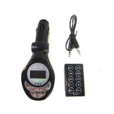 ФМ FM трансмиттер модулятор авто MP3 с ДУ