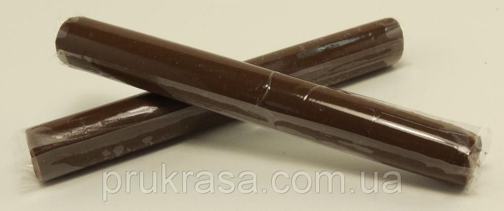 """Полимерная глина """" Пластишка """", Запекаемая, Палочка 17 грамм, Пластика, Цвет: коричневый"""