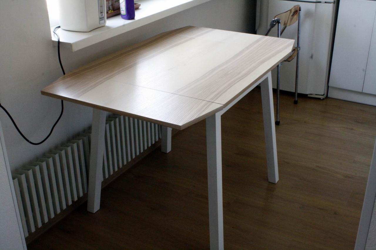 Стол кухонный раскладной массив дуба, ясеня