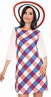 Платье в ромб  - MS921