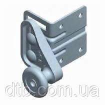 Кронштейн верхний с роликом RBG900R-SS нержавеющий для ворот Alutech