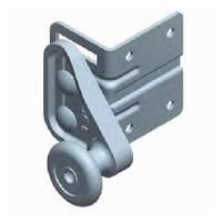 Кронштейн верхний с роликом RBG900L-SS нержавеющий для ворот Alutech