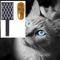 Магнит для гель лака с эффектом кошачий глаз (ромбики)