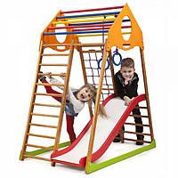 Детский спортивный комплекс для дома KindWood Plus 1, фото 1