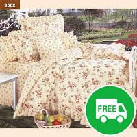 Комплект постельного белья Viluta 9562 ранфорс полуторный