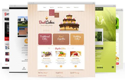 Оригинальный дизайн сайта на Prom.ua