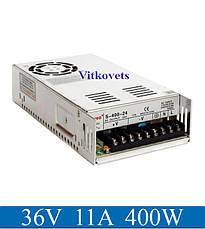 Импульсный блок питания S-400-36, 36V, 11А, 400W, фото 2