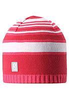 Демисезонная шапка для девочек Reima 528510-3360А Размеры 50 - 56.