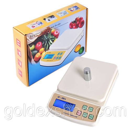 Весы кухонные SF-400A, до 10 кг (6103)