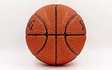 Мяч баскетбольный PU №7 SPALD NBA Gold (оранжевый), фото 2