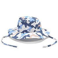 Детская панамка-сафари La Millou Camouflage Blue