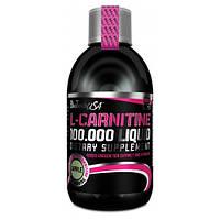 Жиросжигатель напиток карнитин L-Carnitine 100 000 liquid BioTechUSA 500ml