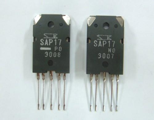 Транзисторная пара SAP17N +SAP17P