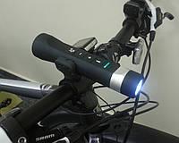 Портативная колонка с фонариком для велосипеда. Мультиколонка с фонарем и Power Bank