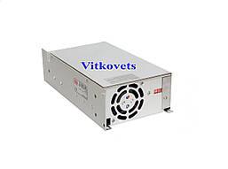 Импульсный блок питания S-500-48, 48V, 10.4A, 500W, фото 2
