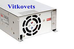 Импульсный блок питания S-500-48, 48V, 10.4A, 500W, фото 3