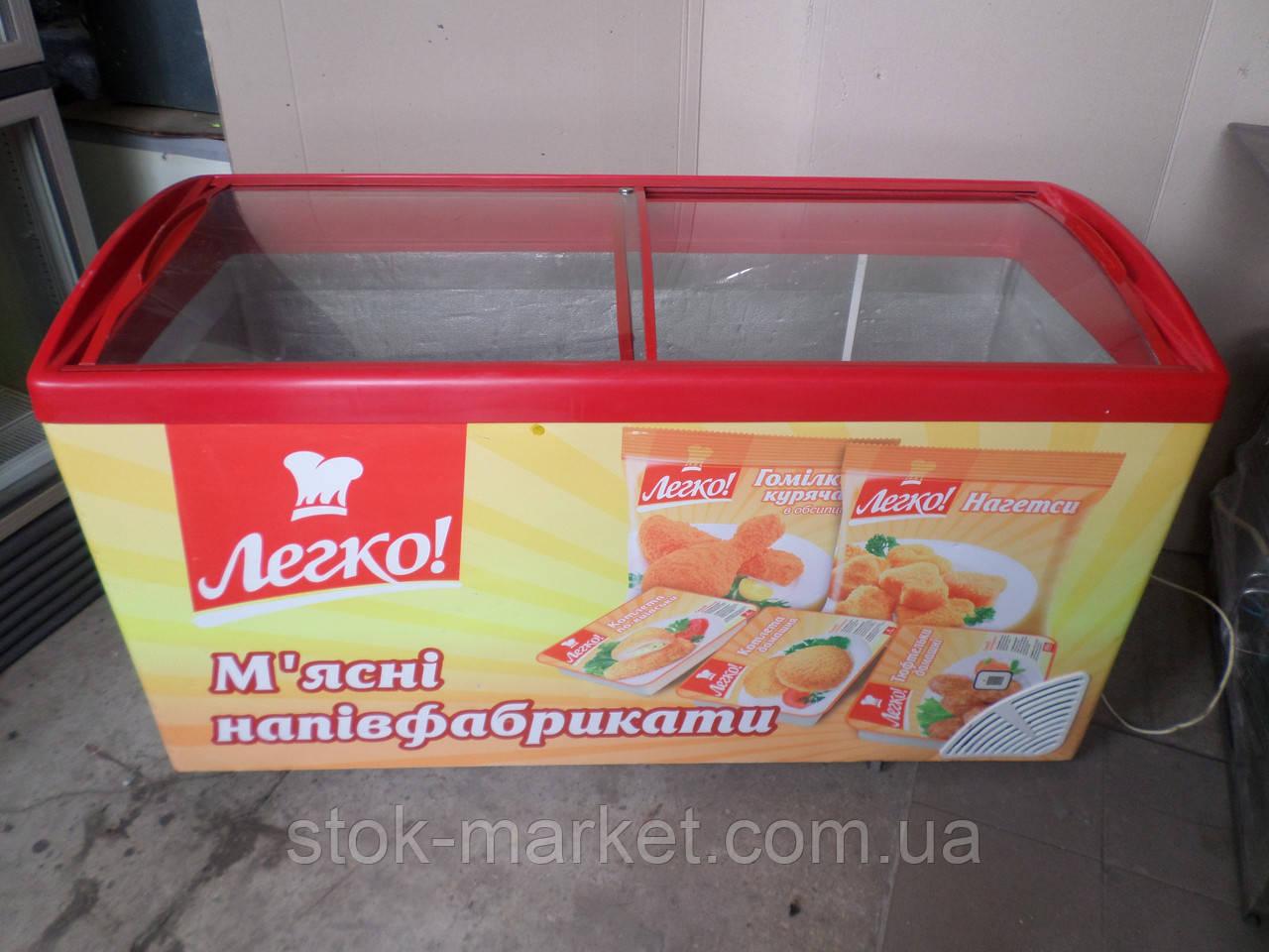 Ларь морозильный 450 л. б у, морозильный ларь бу,  купить ларь б/у