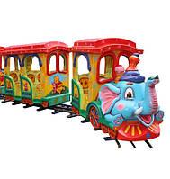 """Детский Рельсовый паровозик """"Африканский экспресс-10м"""", фото 1"""