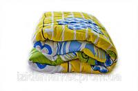 Шерстяное полутоне одеяло - ткань полиэстер