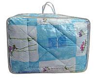 Шерстяное полуторное одеяло - ткань хлопок