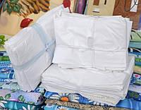 Наперники из белого германского тика на полуторное одеяло 140х220