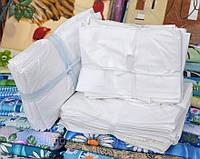 Наперники из белого германского тика на двухспальное одеяло 180х220см