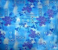 Ткань постельная Ситец Донецкий Сирень