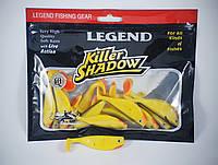 Приманка виброхвост силиконовая Legend Fishing Gear 8см.