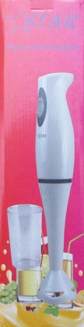 Блендер занурювальний 300вт з чашкою 500мл STAR