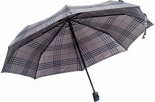 """Зонт мужской, полный автомат, DOPPLER """"Bugatti Caro"""" артикул: 74662BU-2 серый"""
