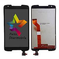 Дисплей для мобильного телефона HTC Desire 828, черный, с тачскрином (high copy)