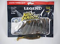 Приманка виброхвост силиконовая Legend Fishing Gear 10см.