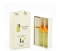 Мужской мини парфюм Chanel Egoiste Platinum (Шанель Эгоист Платинум) 3*15мл